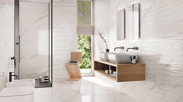 Purity Of Marble Wall